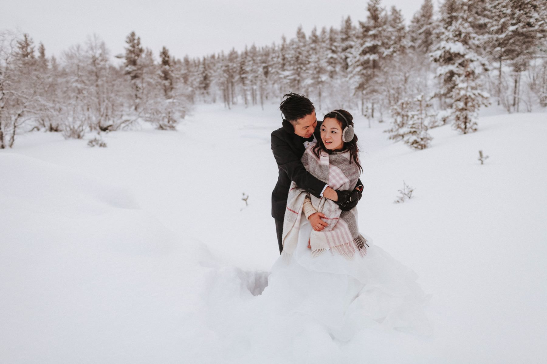 Honeymoon in Lapland