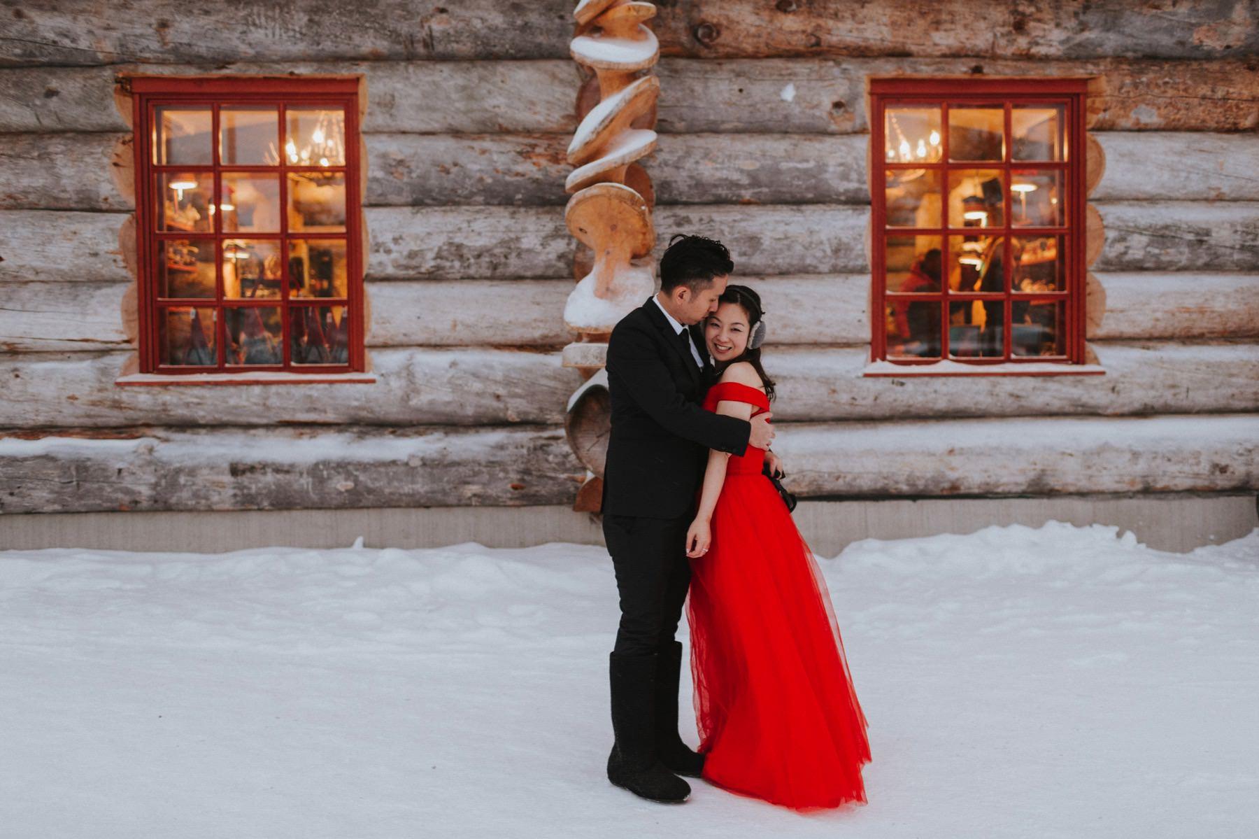 Lapland pre wedding