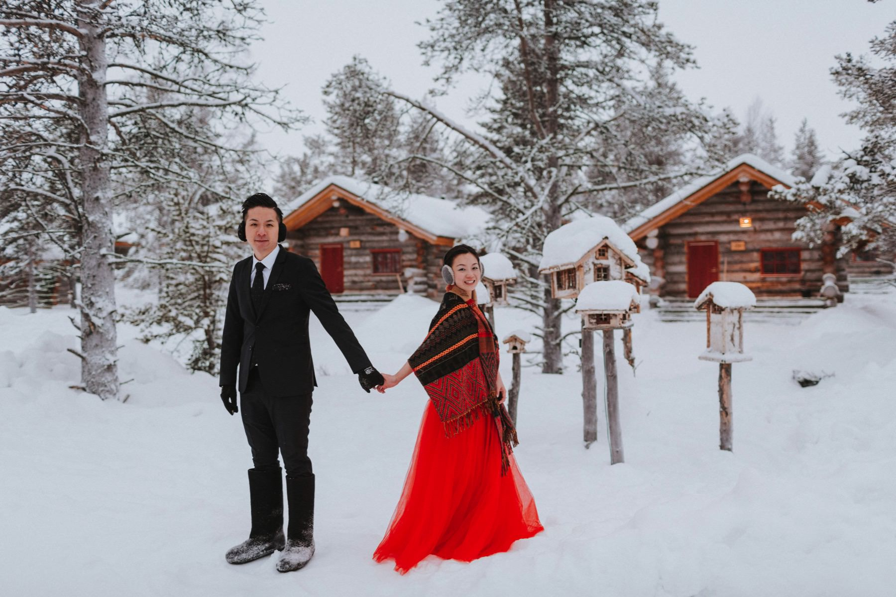 pre wedding session in Finland